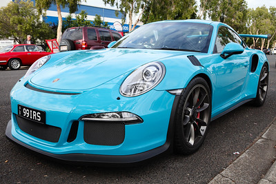 Porsche 991 911 GT3RS - Cars & Coffee, Brisbane. Saturday 6 August 2016. Photos by Des Thureson - http://disci.smugmug.com