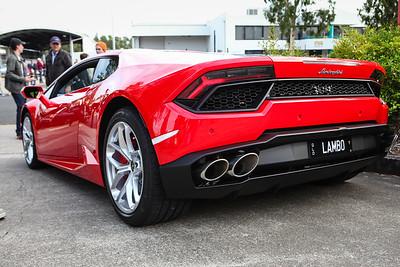 Lamborghini Huracán - Cars & Coffee, Brisbane. Saturday 6 August 2016. Photos by Des Thureson - http://disci.smugmug.com