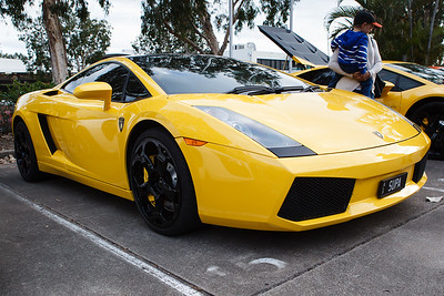 Lamborghini - Cars & Coffee, Brisbane. Saturday 2 September 2017. Photos by Des Thureson - http://disci.smugmug.com