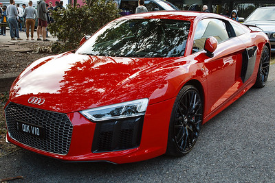 Audi R8 V10 - Cars & Coffee, Brisbane. Saturday 2 September 2017. Photos by Des Thureson - http://disci.smugmug.com