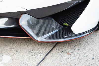 McLaren Carbon Fibre Aero Spoiler - Cars & Coffee, Brisbane. Saturday 2 September 2017. Photos by Des Thureson - http://disci.smugmug.com