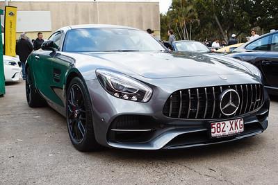 Mercedes Benz AMG GTs - Cars & Coffee, Brisbane. Saturday 2 September 2017. Photos by Des Thureson - http://disci.smugmug.com