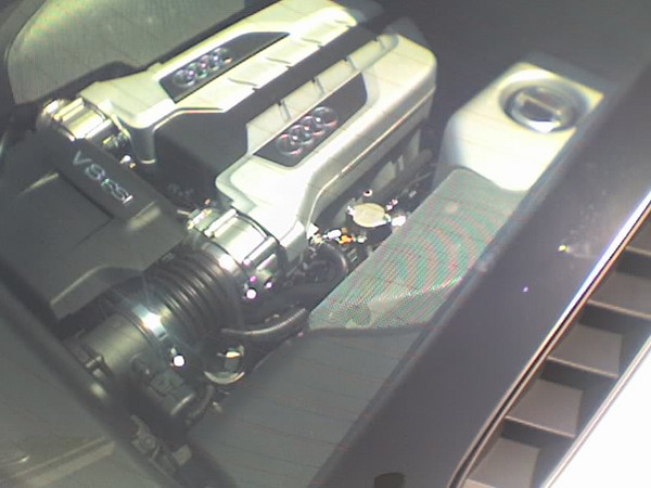 2007 08 06 Mon - Audi R8 glass engine bay