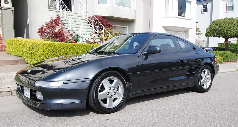 2007 05 - Ben Hoomes '91 Toyota MR2 with '97 panels - Left front quarter