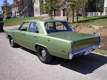 70's Plymouth Valiant