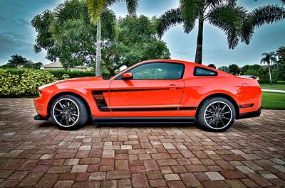 2012 Mustang Boss 302./