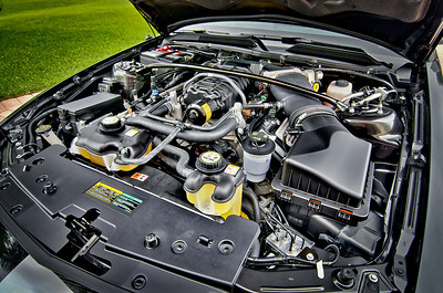 Engine. 2007 Mustang Shelby GT500.