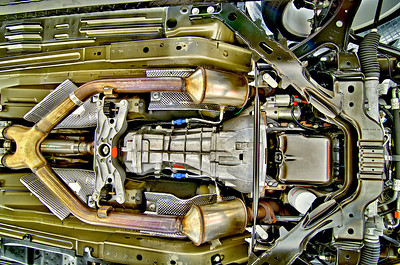 Undercarriage: 2007 Mustang Shelby GT500.