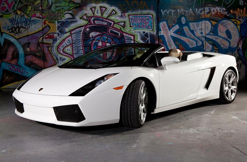 Lamborghini Gallardo convertible