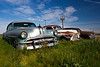 1952 Pontiac Chiefton, 1941 Buick Eight, and a 1950 Packard