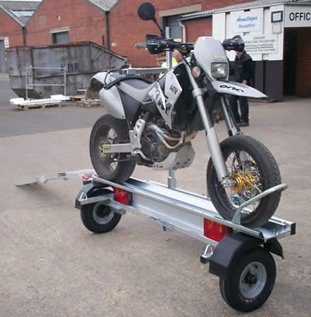Need Simple Diy Trailer To Tow Dirt Bike Adventure Rider