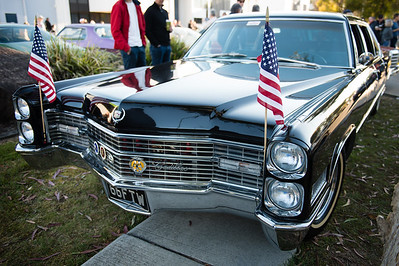 Cadillac Fleetwood - Cars & Coffee, Brisbane. Saturday 5 August 2017. Photos by Des Thureson - http://disci.smugmug.com