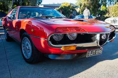 Alfa Romeo Montreal - Cars & Coffee, Brisbane. Saturday 5 August 2017. Photos by Des Thureson - http://disci.smugmug.com