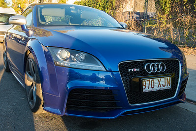 Audi TTRS - Cars & Coffee, Brisbane. Saturday 5 August 2017. Photos by Des Thureson - http://disci.smugmug.com