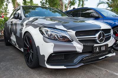 Camo Mercedes