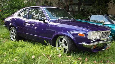 Purple Mazda