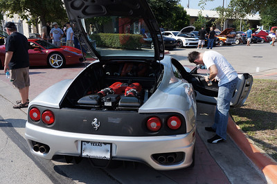 Cars and Coffee Leander