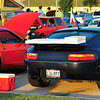 In addition to providing extra downforce, a properly designed rear spoiler can come in handy for tailgating...