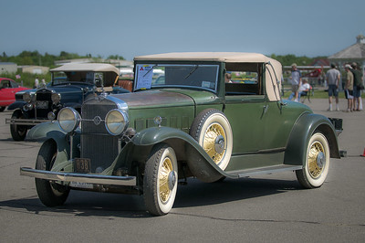 1931 LaSalle Convertible Coupe at the Owls Head Transportation Museum.