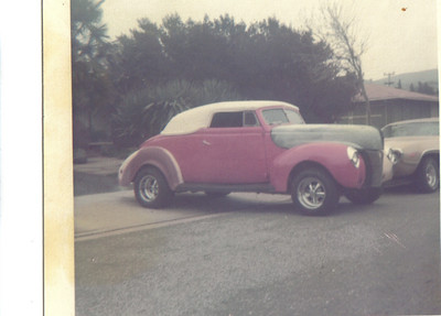 1940 Ford (original Carson top)