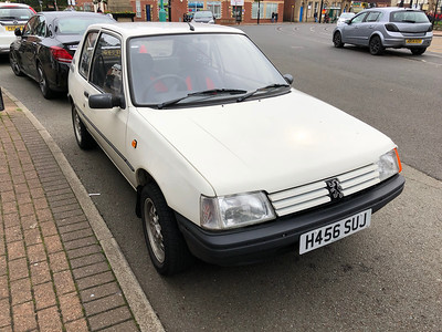 1991 Peugeot 205 XL