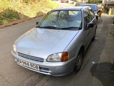 1998 Toyota Starlet 'Sportif'