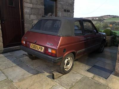 1986 Talbot Samba Cabriolet