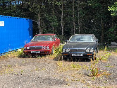 1995 Jaguar XJ6 and 1999 Jaguar XJ8