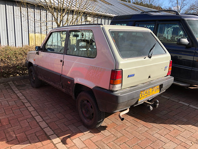1986 Fiat Panda 4 x 4