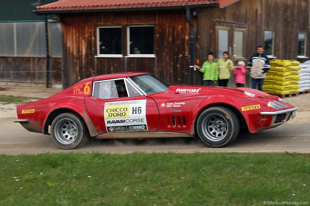 Chevrolet Corvette Stingray - Alex Beeler SUI @ Criterium Jurassien Switzerland 21Apr12