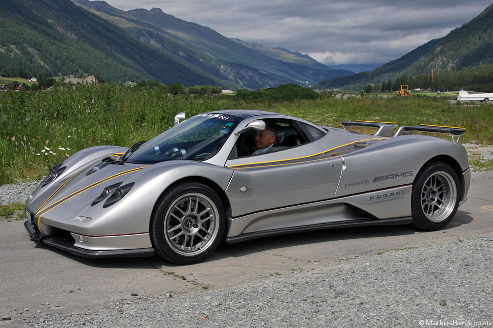 Pagani Zonda C12 @ Samedan Switzerland 25Jun11