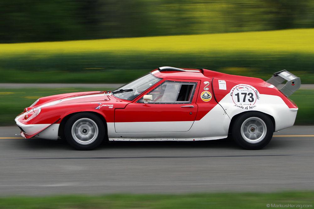 Lotus Europa - Peter Sturzenegger SUI @ GP Mutschellen Switzerland 29Apr12