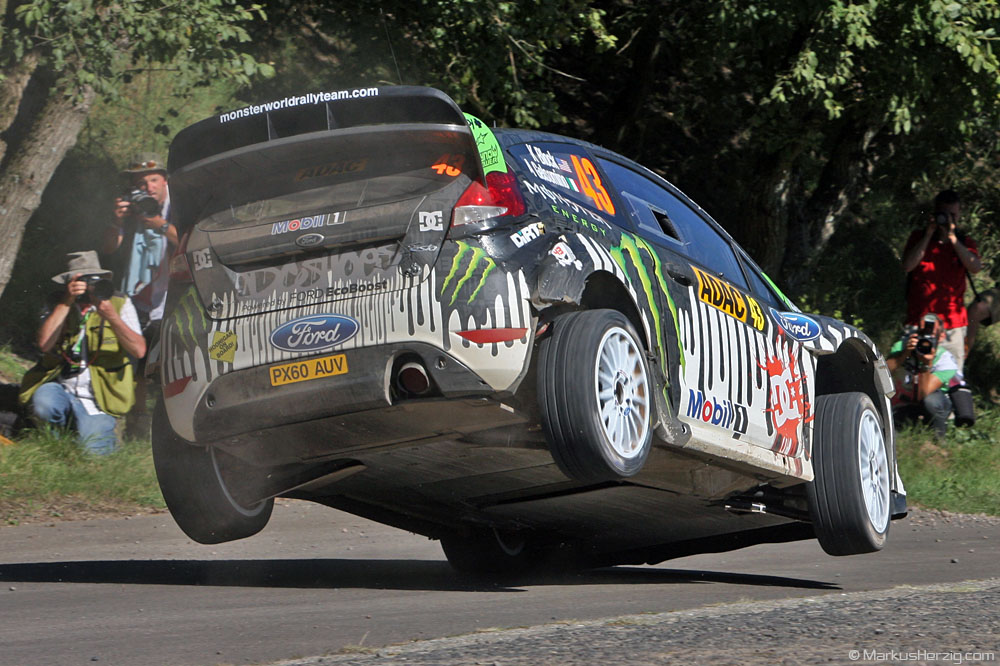 Ford Fiesta RS WRC - Ken Block USA @ WRC Rallye Germany 20Aug11