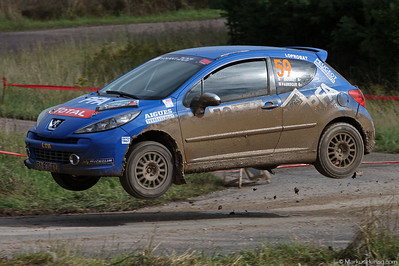 Peugeot 207 RC - Michel Mouret FRA @ Rallye Terre de Langres France 23Jul11