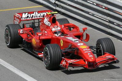 Ferrari F2007 - Kimi Räikkönen FIN @ F1 Grand Prix Monaco 24May07