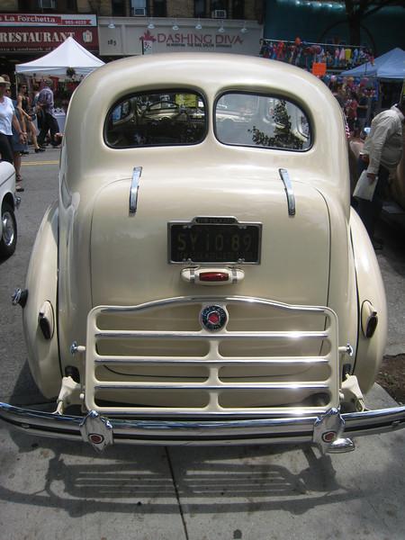 Packard, rear