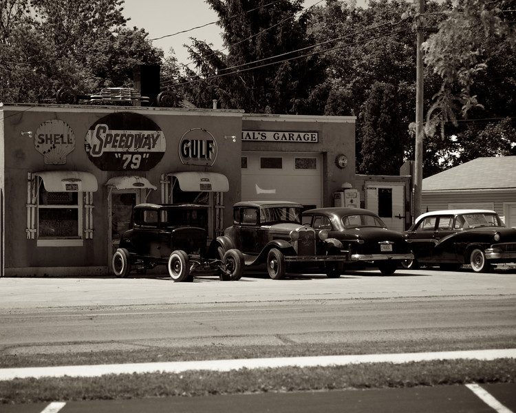 Hal's Garage in Fayette, OH.