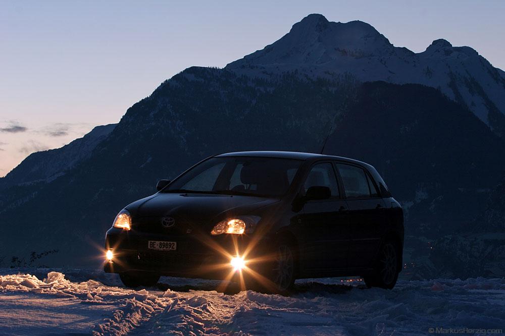 Toyota Corolla TS @ Sion Switzerland 6Jan06