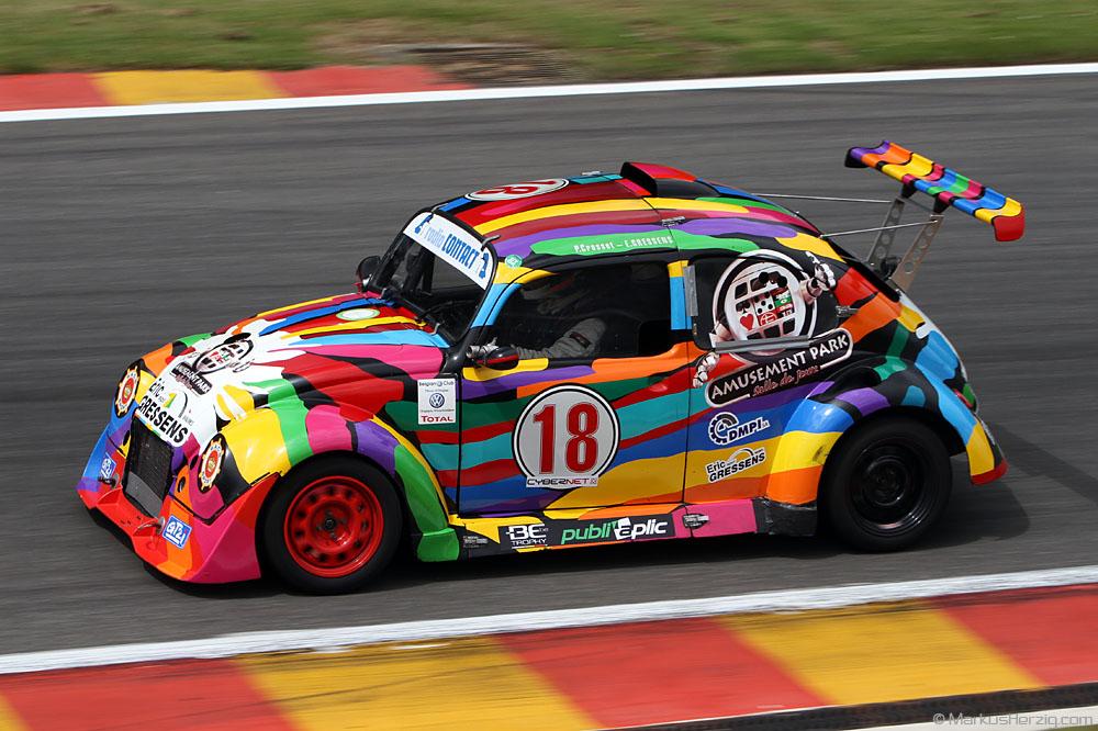 Volkswagen Beetle (VW Käfer) - P.Crosset / E.Gressens BEL @ Spa BRCC Belgium 9Jun12