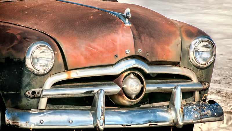 50-ish Ford front end