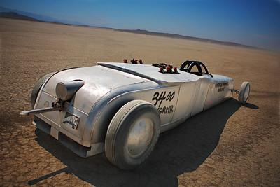Vintage Hammer Garage Vintage style land speed racer. Built Fabian Valdez.