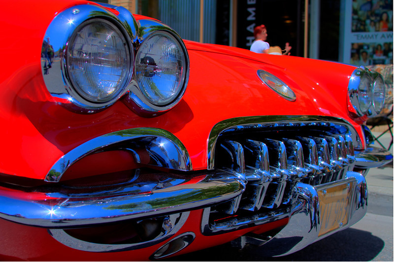 little red corvette