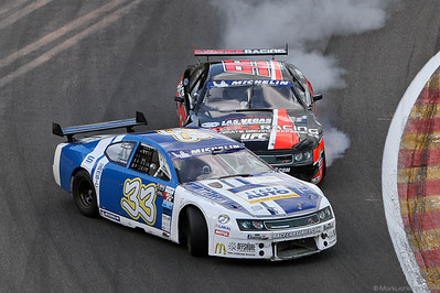 Euro Racecar Nascar TS - Dimitri Enjalbert FRA @ Spa 200 BRCC Belgium 10Jun12