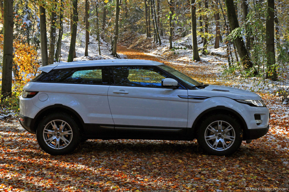 Land Rover Range Rover Evoque Coupe TD4 @ Bern Switzerland 29Oct12