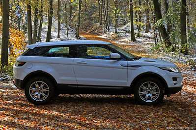 Land Rover Range Rover Evoque Coupe TD4 @ Bern Switzerland 29Oct12