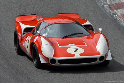 Lola T70 MkIII (1968) - Alberto Francioni SUI @ Spa Classic Belgium 29May11