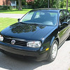 Our 2004 VW Golf. One of my favorite cars to drive.