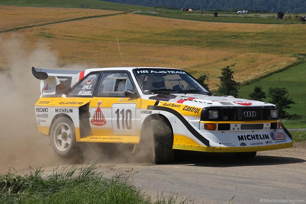 Audi Quattro E2 - Walter Röhrl / Wolf-Dieter Ihle DEU @ Eifel Rallye Festival Germany 16Jul11