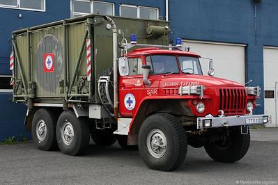 Russian URAL truck of Icelandic SAR @ Egilstadir Iceland 4Aug10