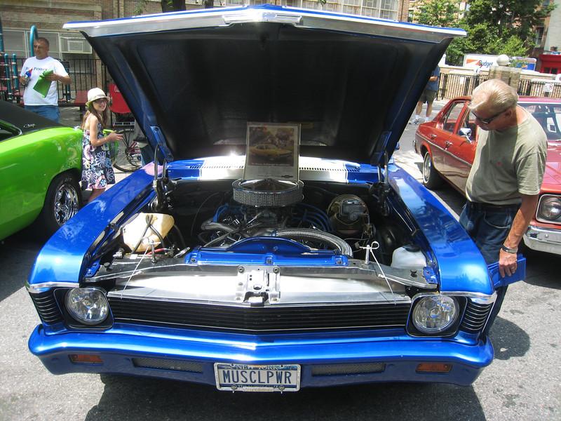 Blue Nova, front
